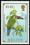 Cl: Crimson-rumped Toucanet (Aulacorhynchus haematopygus)(Out of range)  SG 968 (1986) 250