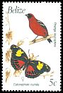 Cl: White-winged Tanager (Piranga leucoptera) SG 1067A (1990) 60