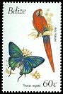 Cl: Scarlet Macaw (Ara macao)(Repeat for this country)  SG 1073A (1990) 125