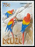 Cl: Scarlet Macaw (Ara macao)(Repeat for this country)  SG 1306 (2003) 140