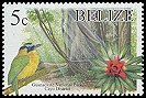Cl: Blue-crowned Motmot (Momotus momota)(Repeat for this country)  SG 1320 (2005) 15