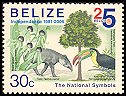 Cl: Keel-billed Toucan (Ramphastos sulfuratus)(Repeat for this country)  SG 1338 (2006) 100