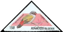 Cl: Swee Waxbill (Estrilda melanotis)(Out of range and no other stamp)  SG 1869 (1999)