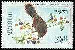 Cl: Red-faced Liocichla (Liocichla phoenicea) SG 187 (1968) 10