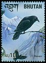 Cl: Common Raven (Corvus corax)(Repeat for this country)  SG 1600 (2000) 40