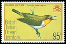 Cl: Madagascar White-eye (Zosterops maderaspatanus) SG 71 (1975) 125