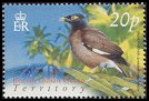 Cl: Common Myna (Acridotheres tristis)(Repeat for this country)  SG 298 (2004) 70 [3/2] I have 3 spare [1/24]