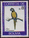 Cl: Blue-and-yellow Macaw (Ara ararauna) SG 1055 (1981) 130