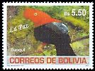Cl: Andean Cock-of-the-rock (Rupicola peruviana) <<Tunqui>>  SG 1763 (2007) 300 [4/21]