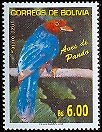 Cl: Azure Jay (Cyanocorax caeruleus)(Out of range)  SG 1737 (2006) 325 [4/9]