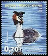 Cl: Great Crested Grebe (Podiceps cristatus) <<Cubasti gnjurac>>  SG 190 (2006) 0