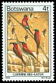 Cl: Southern Carmine Bee-eater (Merops nubicoides)(Repeat for this country)  SG 414 (1978) 100