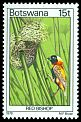 Cl: Red Bishop (Euplectes orix) SG 418 (1978) 150
