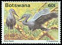 Cl: Slaty Egret (Egretta vinaceigula)(Repeat for this country)  SG 676 (1989) 140