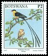 Cl: Shaft-tailed Whydah (Vidua regia) <<Molope>>  SG 866 (1997) 160