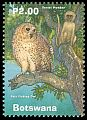 Cl: Pel's Fishing-Owl (Scotopelia peli)(Repeat for this country)  SG 936 (2000) 175 [3/51]