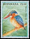 Cl: Malachite Kingfisher (Alcedo cristata)(Repeat for this country)  SG 1067 (2007) 60 [4/10]