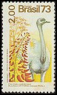 Cl: Greater Rhea (Rhea americana) <<Ema>> (Repeat for this country)  SG 1481 (1973) 1600 [5/36]