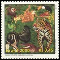 Cl: Harpy Eagle (Harpia harpyja)(Repeat for this country)  SG 3076 (2000) 130 [2/30]