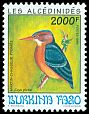 Cl: African Pygmy-Kingfisher (Ispidina picta) <<Martin-chasseur Pygmee>>  SG 1077 (1994) 0