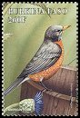 Cl: American Robin (Turdus migratorius)(Out of range)  SG 1206g (1998) 125
