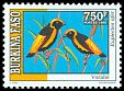 Cl: Yellow-crowned Bishop (Euplectes afer) <<Vorabe>>  SG 1120 (1995) 350