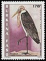 Cl: Marabou Stork (Leptoptilos crumeniferus) <<Marabout>> (Repeat for this country)  new (1998)