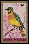 Cl: Little Bee-eater (Merops pusillus)(Repeat for this country)  SG 145 (1965) 75 [3/18]