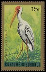 Cl: Yellow-billed Stork (Mycteria ibis)(Repeat for this country)  SG 146 (1965) 85 [3/18]