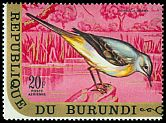 Cl: Grey Wagtail (Motacilla cinerea)(Out of range)  SG 574 (1970) 210