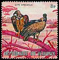 Cl: White-backed Vulture (Gyps africanus)(Repeat for this country)  SG 623 (1971) 25