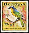 Cl: Black-fronted Bushshrike (Telophorus nigrifrons)(I do not have this stamp)  new (2014)