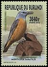 Cl: Rufous-tailed Rock-Thrush (Monticola saxatilis)(Repeat for this country)  new (2016)