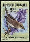 Cl: Marsh Warbler (Acrocephalus palustris)(I do not have this stamp)  new (2016)