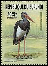Cl: Black Stork (Ciconia nigra)(I do not have this stamp)  new (2016)