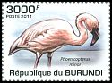 Cl: Lesser Flamingo (Phoenicopterus minor)(Repeat for this country)  new (2011)  [7/45]