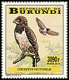 Cl: Black-breasted Snake-Eagle (Circaetus pectoralis)(I do not have this stamp)  new (2014)