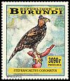 Cl: Crowned Hawk-Eagle (Stephanoaetus coronatus)(I do not have this stamp)  new (2014)