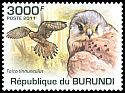 Cl: Eurasian Kestrel (Falco tinnunculus)(I do not have this stamp)  new (2011)