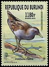 Cl: Little Crake (Porzana parva)(I do not have this stamp)  new (2016)