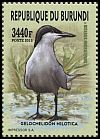 Cl: Gull-billed Tern (Sterna nilotica)(I do not have this stamp)  new (2016)