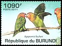 Cl: Fischer's Lovebird (Agapornis fischeri)(Repeat for this country)  new (2011)  [7/45]