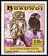 Cl: Pearl-spotted Owlet (Glaucidium perlatum)(I do not have this stamp)  new (2014)