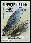 Cl: European Roller (Coracias garrulus)(I do not have this stamp)  new (2016)