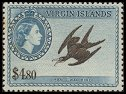 Cl: Magnificent Frigatebird (Fregata magnificens) <<Man-o'-War Bird>> (Repeat for this country)  SG 161 (1956) 4200