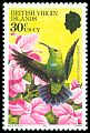 Cl: Green-throated Carib (Eulampis holosericeus)(Repeat for this country)  SG 480 (1982) 60