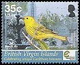Cl: Yellow Warbler (Dendroica petechia)(Repeat for this country)  SG 1171 (2005) 70