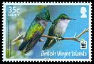 Cl: Antillean Crested Hummingbird (Orthorhyncus cristatus)(Repeat for this country)  SG 1278 (2014) 110