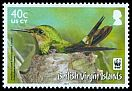 Cl: Antillean Crested Hummingbird (Orthorhyncus cristatus)(Repeat for this country)  SG 1279 (2014) 140