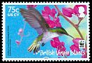 Cl: Antillean Crested Hummingbird (Orthorhyncus cristatus)(Repeat for this country)  SG 1280 (2014) 190